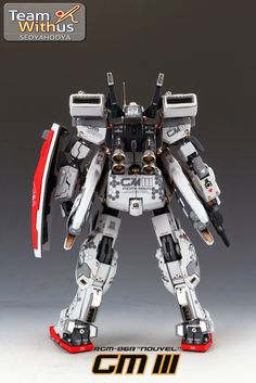 1/72 RGM-86R GM III 'Nouvel' - Painted Build     Modeled by SeoyaHooya