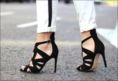 Street Style Black And White at KG Shoes