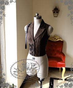 fanplusfriend - Beyond the End of Time, Steampunk Steel Boned Suedette Corset Vest*Instant Shipping, $55.00 (http://www.fanplusfriend.com/beyond-the-end-of-time-steampunk-steel-boned-suedette-corset-vest-instant-shipping/)