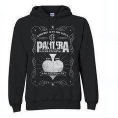 New PANTERA WALK Logo hoodie Sweatshirt size XS-XL