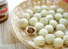 Nutella bonbons | Kookmutsjes