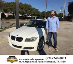 https://flic.kr/p/zW76wh | Happy Anniversary to Armando on your #BMW #3 Series from Ron Waymire at Auto Web Expo Inc! | deliverymaxx.com/DealerReviews.aspx?DealerCode=J789