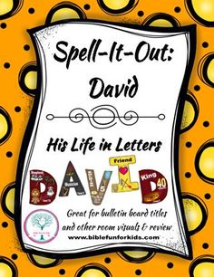 David: Spell-It-Out, would be great for a bulletin board