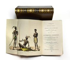 Sale B250216 Lot 470  DILLON (Peter) Narrative and Successful Result of a Voyage in the South Seas . London: Hurst, Chance, and Co. 1829, 8vo, two volumes, first edition, two folding frontispieces (one coloured), folding map, plate, calf gilt (rubbed)  - Cheffins