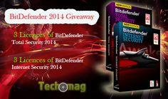 [Giveaway] BitDefender 2014 Giveaway :Total Security + Internet Security » Techomag