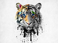 geometric_tiger_head_by_deandemaro-d813red.jpg 1,600×1,200 pixels