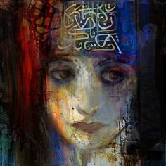 Suhair Sibai, Syria - 'Damascus Queen 2' Giclee Print on Archival Paper