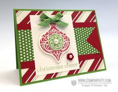 ornament keepsakes - stampin' up!