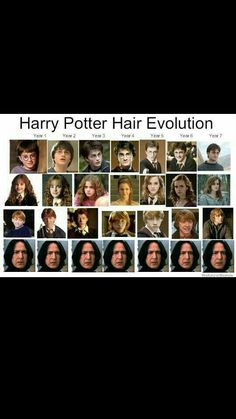Oh. My. Gods.<- (From percy Jackson) I'm glad I'm not the only one who noticed their hair evolution.