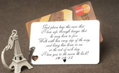 Gift for him Wallet Card Metal Wallet Insert Card Wallet Insert Card Personalized Wallet Card wedding wallet card Metal Wallet Insert Wallet Insert Card Personalized  Card business Wallet Card Anniversary card Happy Anniversary Сustom wallet card metal Wallet card wallet insert Personalized wallet Anniversary gift gift for him wedding gift 28.00 USD #goriani