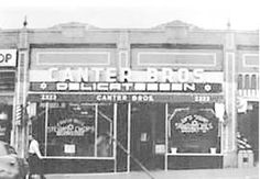 The original location of Canter's Delicatessen