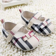 $3.25 - Soft Sole Crib Shoes Infant Toddler Baby Girl Shoesborn To 18 Months #ebay #Fashion