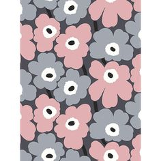 BuyMarimekko Pieni Unikko Wallpaper, 17901 Online at johnlewis.com