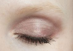 Soft Pink Shadow + ADD on Light Brown or Taupe Shadow over the creases of your eyelids.