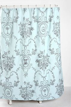 storybook-shower-curtain by Urban Outfitters