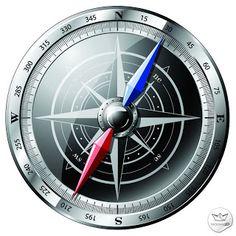 Brújula en Vector (Vector Compass)