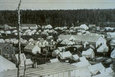 Anchorage began as a tent city of workers building the Alaska Railroad.