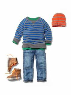 Cute for fall/winter: Toddler Boy Clothing: Naval Academy Baby Outfits, Outfits Niños, Toddler Boy Outfits, Toddler Boys, Kids Outfits, Gap Kids, Kids Fun, Toddler Boy Fashion, Little Boy Fashion
