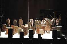Kimotama Oka: Mother Courage and Her Children. Theater X-Cai, Tokyo. Scenic dsign by Roni Toren. 2005