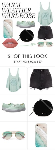 """Sin título #497"" by candy-nohemi-velazco-mendiola ❤ liked on Polyvore featuring RVCA, Ksubi, Vans, Gucci, Gray Malin and Lime Crime"