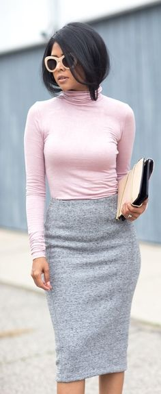 Pastel Style Inspiration using Pantone's colors of the year - Rose Quartz and Serenity!