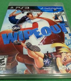 All around Fun Playstation 3 Game, family game night? PS3 Game Wipeout 2, Original Case, Manual, Playstation Move Compatible, 2011, EC in Video Games & Consoles | eBay #gaming #videogames #playstation #abc #kids #adults #mancave