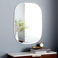 Frameless Rectangle Wall Mirror