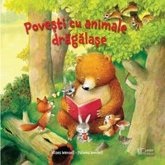 Povesti cu animale dragalase Ravensburger Puzzle, Puzzles, Illustration, Teddy Bear, Christmas Ornaments, Holiday Decor, Books, Children's Literature, Paint By Number