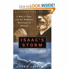 slow start but a fascinating read of the horrible hurricane that wiped out Galveston in 1900.
