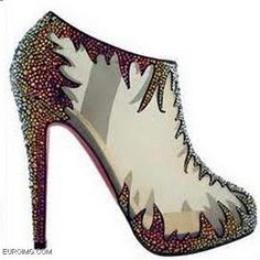 One day i would love to own a pair of red or black Christian Louboutin heels. Size 8 please :) start saving
