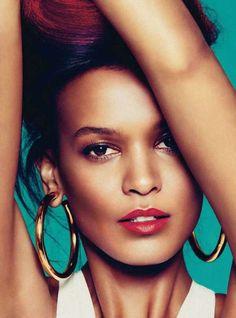 Harper's Bazaar 'Spain Cruza la Linea' Editorial Stars Liya Kebede