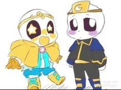 Chibi Dream!Sans y Chibi Nightmare!Sans