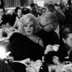 Marilynattends a benefit for The Actors Studio; 1961