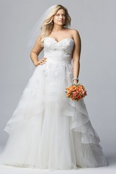 Wtoo Brides Olivia Gown. I'ts so hard to find plus size dresses. This one is one of my favorites on the Wtoo Brides line.