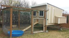Chicken Coop from photo contest at The Chicken Chick on Facebook!
