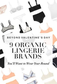 Valentine's Day: 9 Sustainable Lingerie Brands You'll Want to Wear Year-Round Made from materials and featuring a new, pared-down aesthetic, the intimates we're loving right now are luxuriously comfortable and beautifully minimalist. Fashion Mode, Fast Fashion, Slow Fashion, Fashion Clothes, Vegan Clothing, Ethical Clothing, Sustainable Clothing, Sustainable Fashion, Sustainable Living