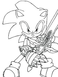 8 Best Sonic Images Hedgehog Colors Coloring Pages For Kids