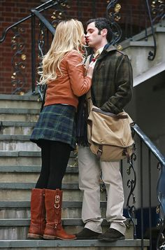 Serena van der Woodsen and Dan Humphrey.......