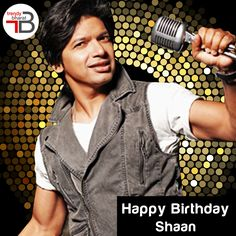 #Trendybharat wishes renowned Hindi playback singer Shaan, a fabulous 44th birthday. Known as the the Voice of Romance, we hope you continue to enthrall us with your melodic voice for years to come. Cheers! #shan