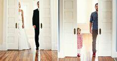 Verder zonder mama: vader en dochter maken trouwfoto's na ter ere van aan kanker overleden moeder