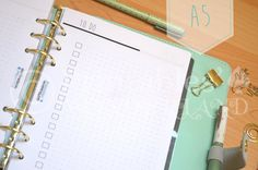 A5 planner inserts printable to do lists by Printableswonderland