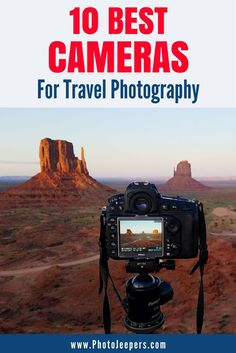 Before any big trip, you need to invest in a good travel camera. If you're unsure what camera to buy, check out these 10 best cameras for traveling and blogging. We also include why it's a good pick and where you can get one of your own (or one for family or your significant other). Make sure you check out these cameras and save them to your travel board or gift board so you can find them later. #camera #giftguide #photography