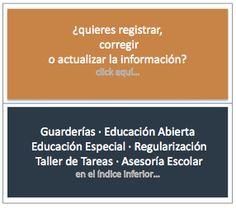 Directorio Escuelas Kinder/Primaria/Secundaria