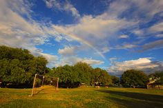 Rainbow Over The Park