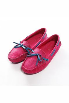 Womens All-match  Moccasin Gommino Leather Rose Shoes ,$49