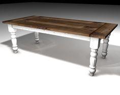 Most Unique Farmhouse Table Design Ideas You Must Have - Home Decor Farmhouse Kitchen Table Sets, Folding Kitchen Table, Country Farmhouse, Country Chic, French Country, Diy Table, Dining Table, Dining Room, Rustic Wooden Shelves