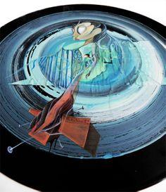 "outtake of ""Change / Deftones"" Tv Channels, National Museum, Magazine Art, Vinyl Records, Spin, Contemporary Art, Art Pieces, Tours, Change"