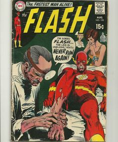 The Flash  # 190 - VF+ -1969 - DC Comics - Silver Age - Very Nice