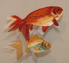Double Sided Goldfish - Nikki Delport Wepener