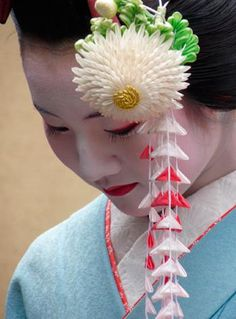 A pretty Maiko-san (舞子さん) National Geographic photographer Kara Burdett